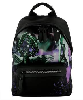 Lanvin Black Fabric Backpack