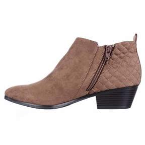 Style&Co. Style & Co Women's Wessley Round Toe Canvas Bootie.