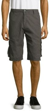 Buffalo David Bitton Hatemo Cotton Solid Six-Pocket Shorts