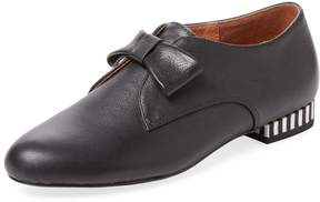 F-Troupe Women's Leather Bow Loafer