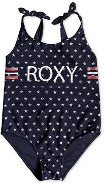 Roxy 1-Pc. Printed Swimsuit, Big Girls