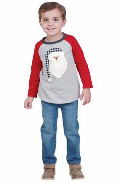 Mud Pie Alpine Santa Shirt