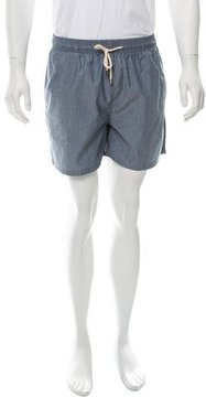 Solid & Striped Chambray Swim Shorts w/ Tags