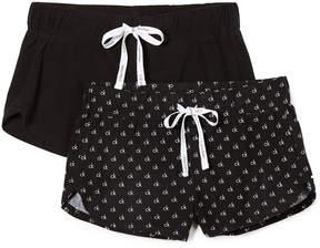 Calvin Klein Underwear Comfort Fleece 2 Pack Shorts