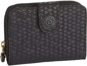Kipling New money medium nylon wallet - BLACK SCALE EMB - STYLE