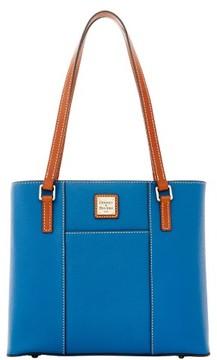 Dooney & Bourke Pebble Grain Small Lexington Shopper Bag - BLUE - STYLE