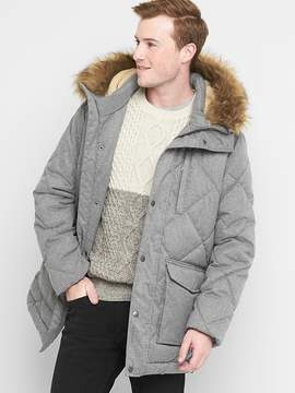 Gap Diamond quilted parka