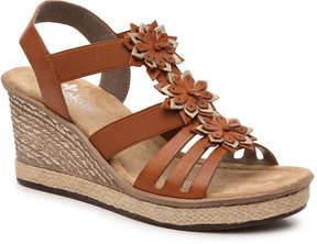 Rieker Women's Rabea Wedge Sandal