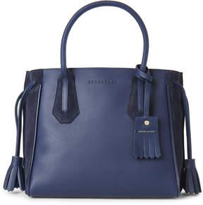 Longchamp Blue Penelope Fantaisie Small Tote