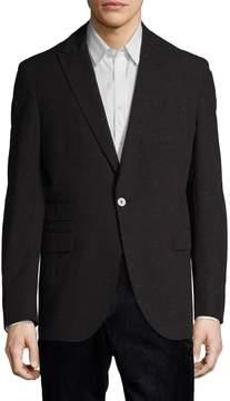 Michael Bastian Men's Checkered Peak Lapel Sportcoat