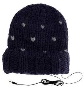 Rebecca Minkoff Knit Headphone Beanie w/ Tags