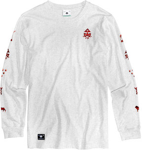 Lrg Men's Blended Graphic Long Sleeve T-Shirt
