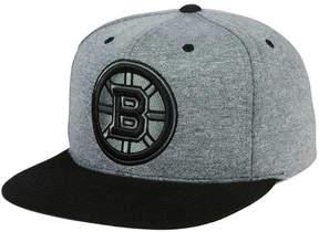Mitchell & Ness Boston Bruins Heather Snapback Cap