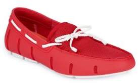 Swims Braided Lace Boat Loafers