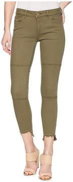 DL1961 Margaux Instasculpt Ankle Skinny in Cargo Green Women's Jeans