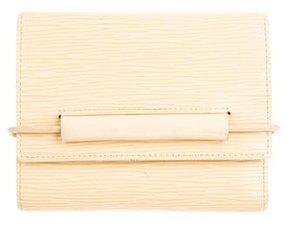 Louis Vuitton Epi Elastique Tri-Fold Wallet - NEUTRALS - STYLE