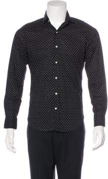 Ralph Lauren Black Label Printed Button-Up Shirt