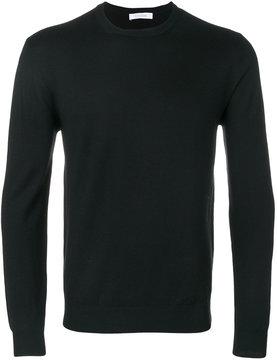 Cruciani ribbed trim sweatshirt