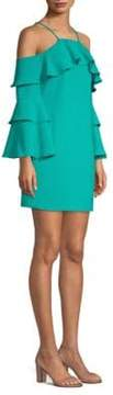 Laundry by Shelli Segal Cold-Shoulder Dress