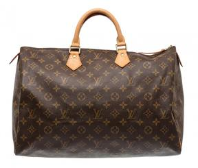 Louis Vuitton Speedy leather satchel - BROWN - STYLE