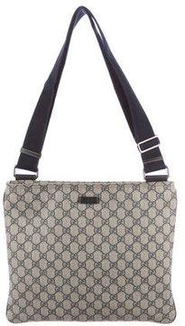 Gucci GG Plus Messenger Bag - BLUE - STYLE