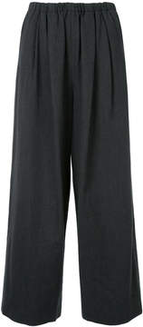 Enfold cropped flared trousers