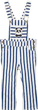 Mini Rodini Blue Stripe Dungarees
