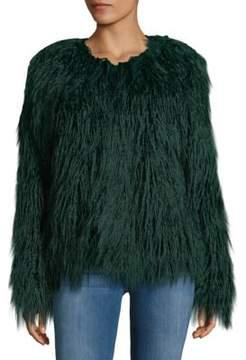 C&C California Faux-Fur Shaggy Jacket