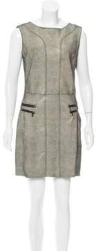 Drome Leather Sheath Dress