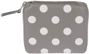 Comme des Garcons Polka Dots Zip Around Wallet