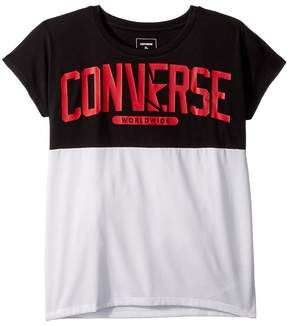 Converse Splice Tee Girl's Clothing