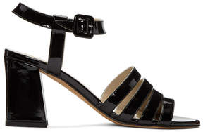 Maryam Nassir Zadeh Black Patent Palma High Sandals