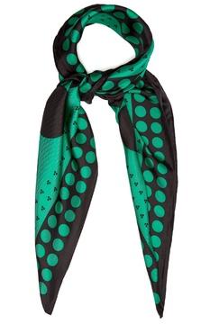 Diane von Furstenberg Brunel polka-dot print silk scarf