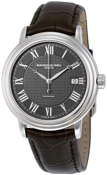 Raymond Weil Maestro Automatic Leather Strap Men's Watch