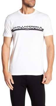 Karl Lagerfeld Short Sleeve 3D Logo Tee