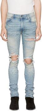 Amiri Indigo Shotgun Jeans
