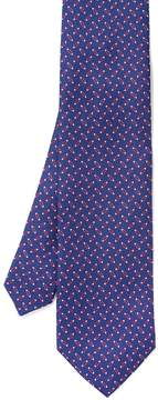 J.Mclaughlin Italian Silk Tie in Geometric Links