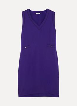 Eres Endormie Assoupie Silk Nightdress - Purple