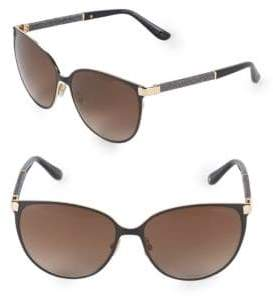 Jimmy Choo Posie 60MM Round Sunglasses