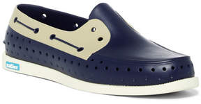 Native Howard Block Perforated Boat Shoe (Men)