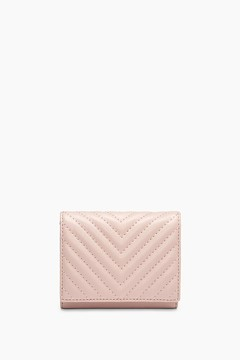 Rebecca Minkoff Trifold Love Wallet - PINK - STYLE