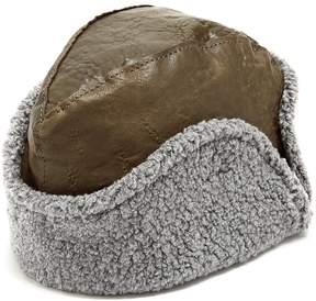Maison Michel Sofia leather hat
