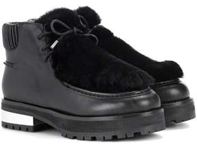 Opening Ceremony Duke leather ankle boots