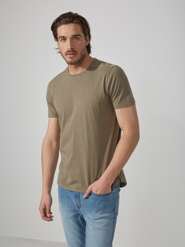 Frank and Oak Loose-Fit T-Shirt in Washed Sage Green