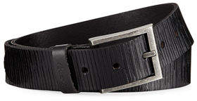 Robert Graham Amada Reversible Scored Leather Belt