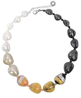 Antica Murrina Veneziana Women's Gold Steel Necklace.
