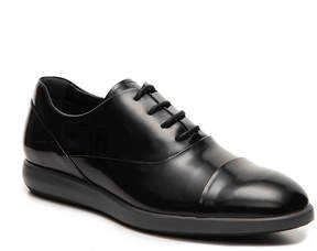 Hogan Men's Patent Leather Cap Toe Oxford