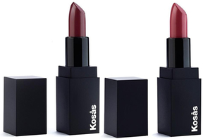 Rosewater & Darkroom Lipstick Duo with Limited Edition Makeup Bag