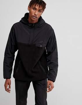 HUF Muir 1/4 Zip Fleeve Overhead Jacket
