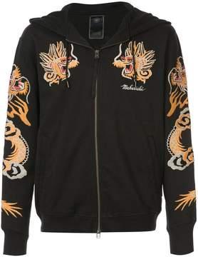 MHI long sleeved dragon hoodie